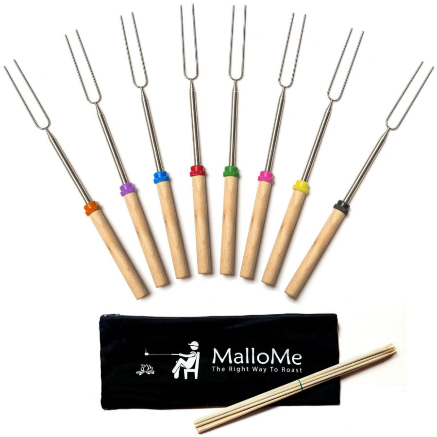 MalloMe Marshmallow Roasting Sticks