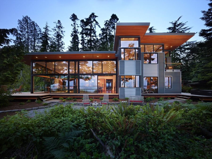 Stunning Modern Glass Houses That Beling in the Storybooks on Modern Glass House  id=45608