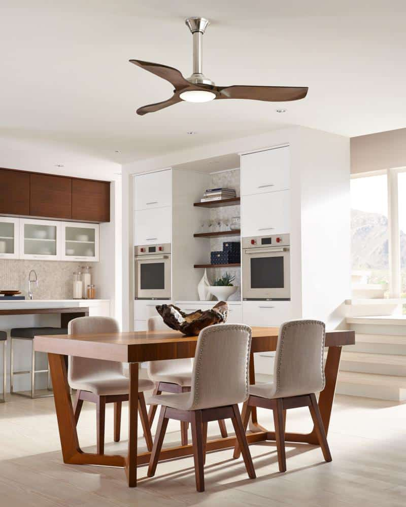 Minimalist Ceiling Fan by Monte Carlo