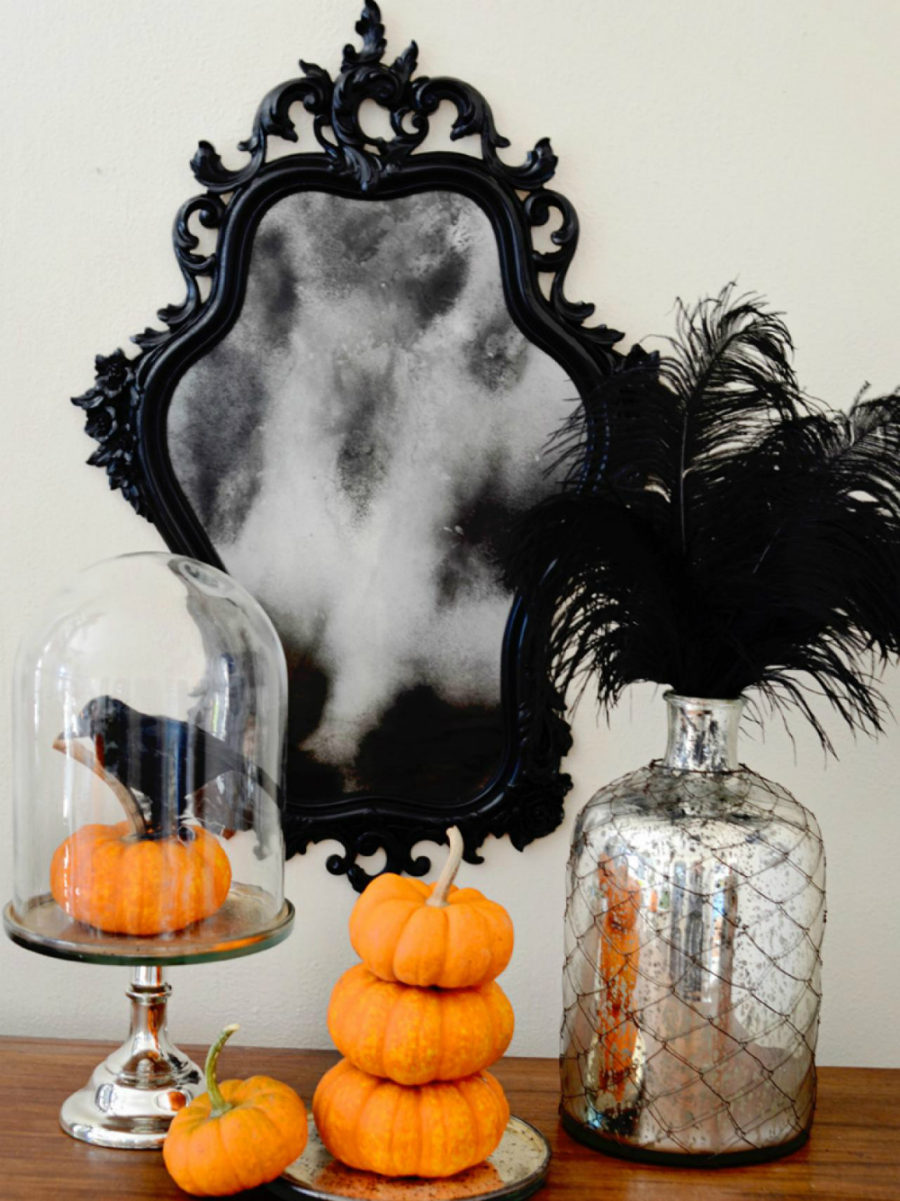 View in gallery Modern Halloween decorations