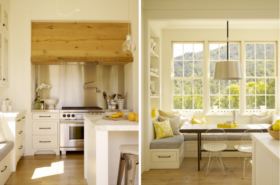 Modern Interieur Wit : Modern farmhouse kitchens that fuse two styles perfectly