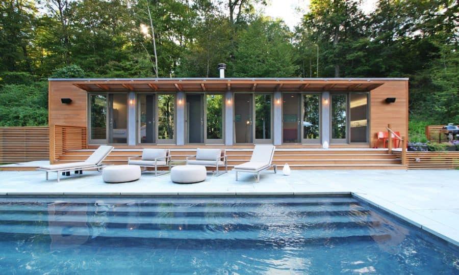 Modern beauty flat house pool