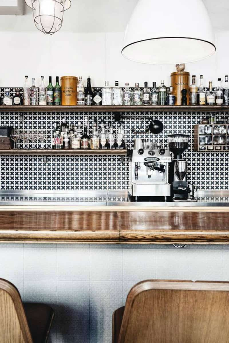 Modern chic bar