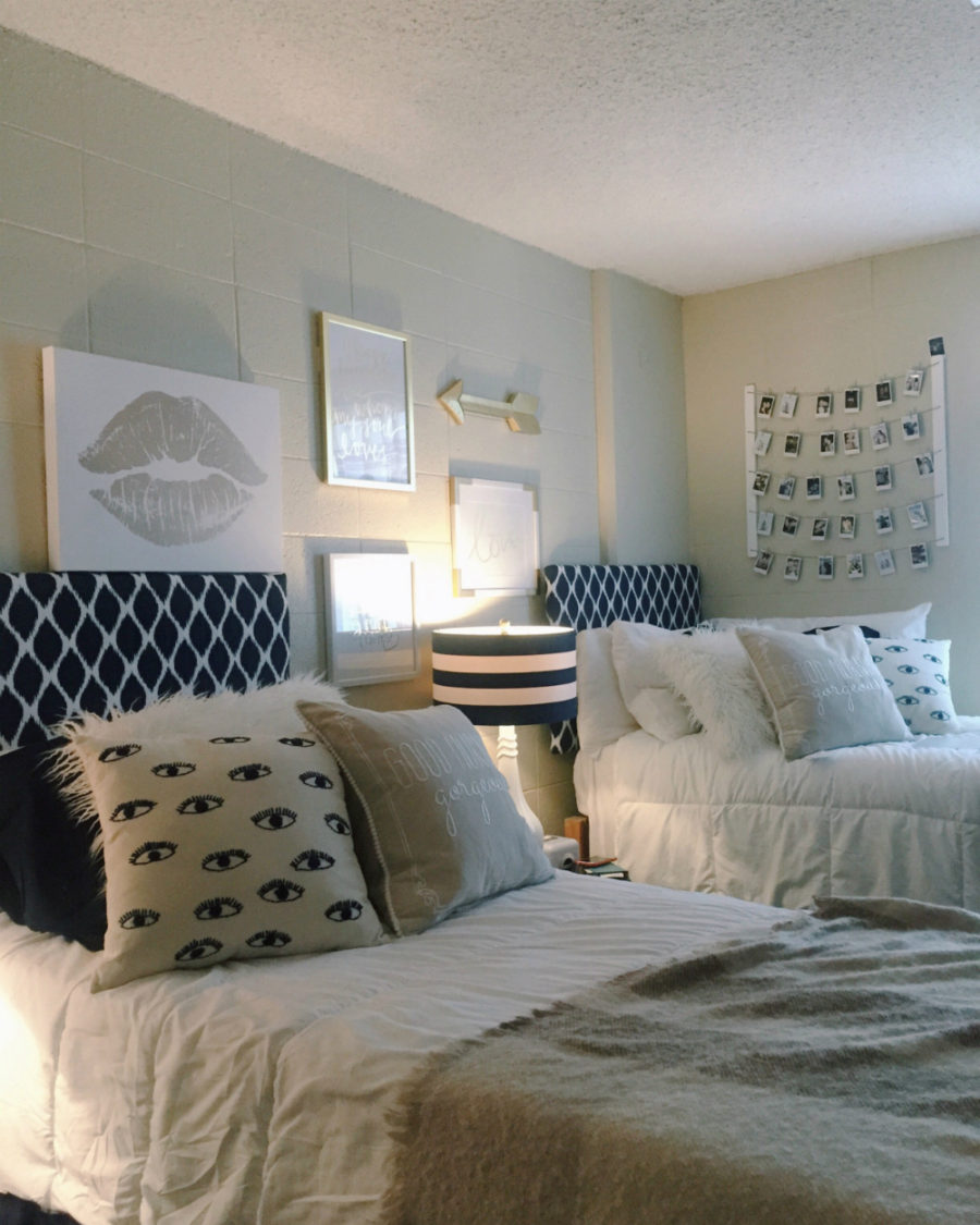 Smart and stylish modern dorm rooms - College room decor ideas ...