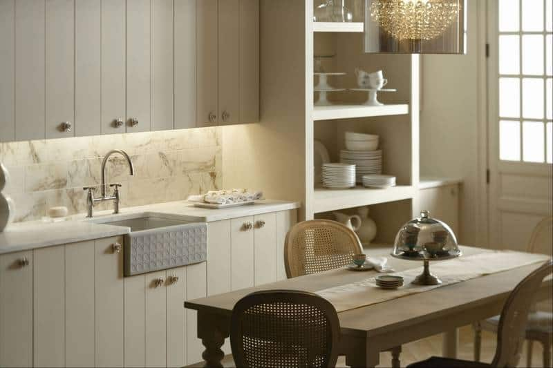 View In Gallery Natural Kitchen Design With Influence Of Farmhouse