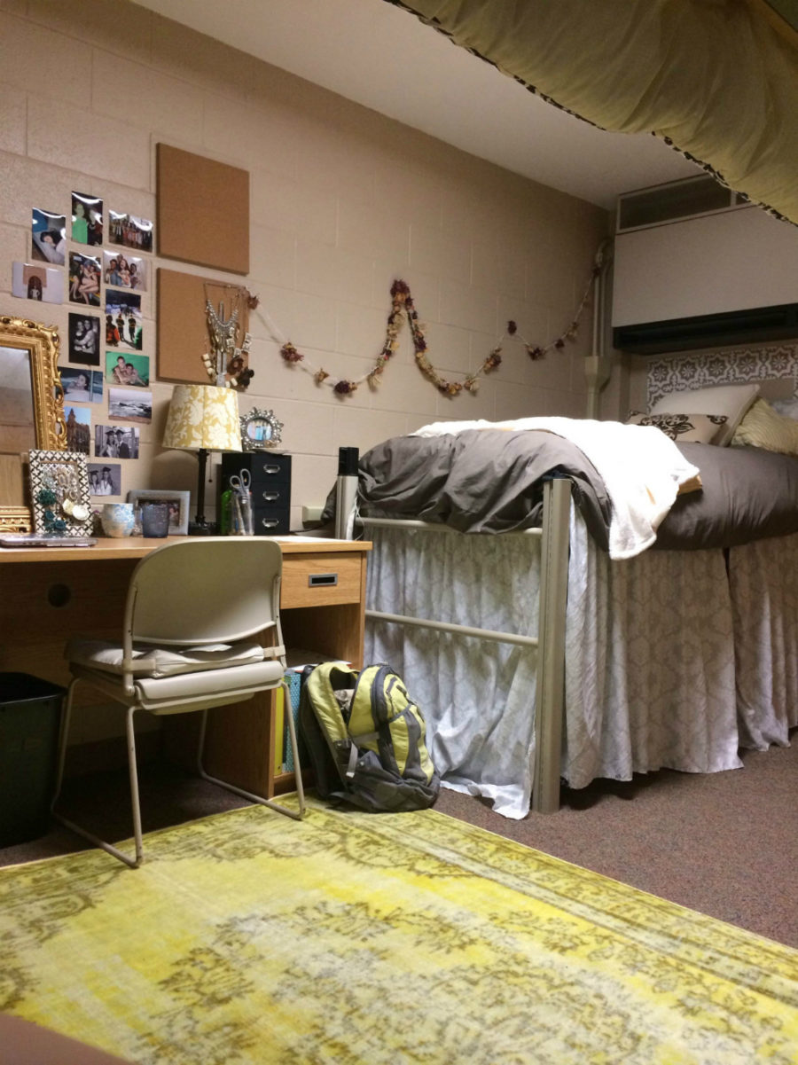 Ohio Northern University dorm room