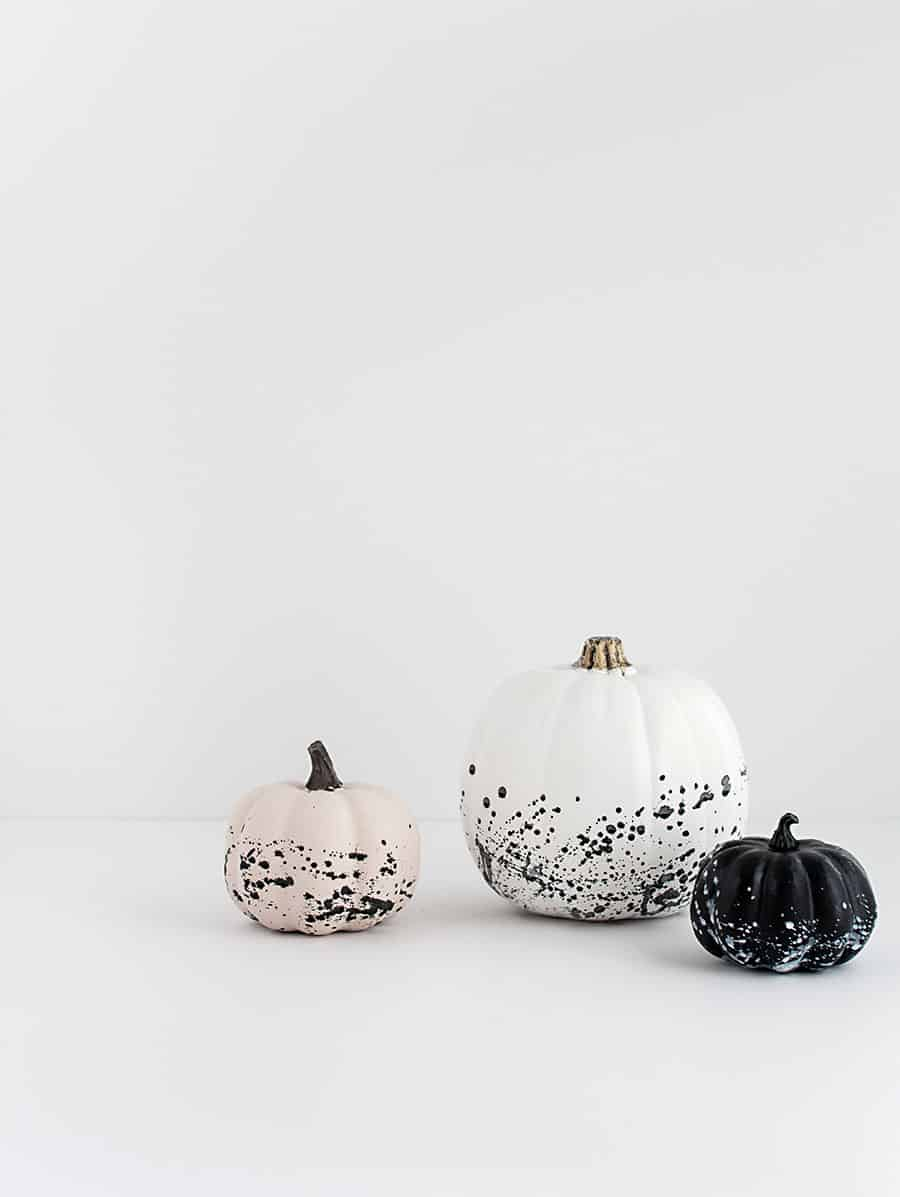 paint-splattered-pumpkins