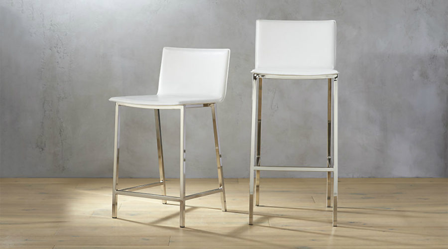 Phoenix Ivory bar stools 900x500 30 Kitchen Chairs With Modern Flair