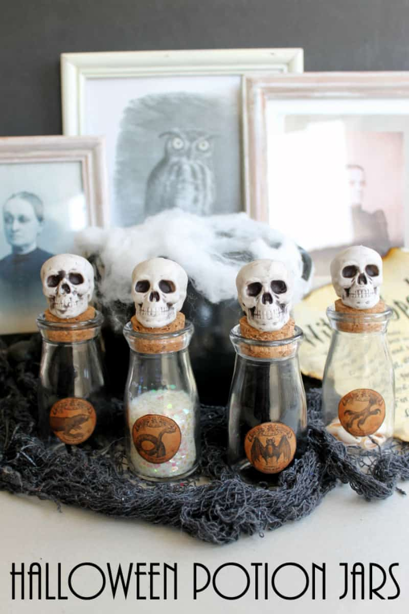 Poison-filled potion jars