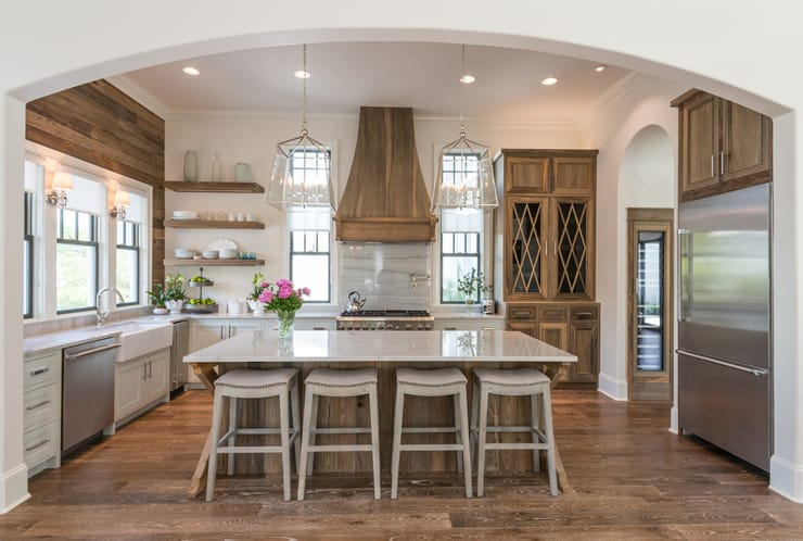 Popular style kitchen farmhouse