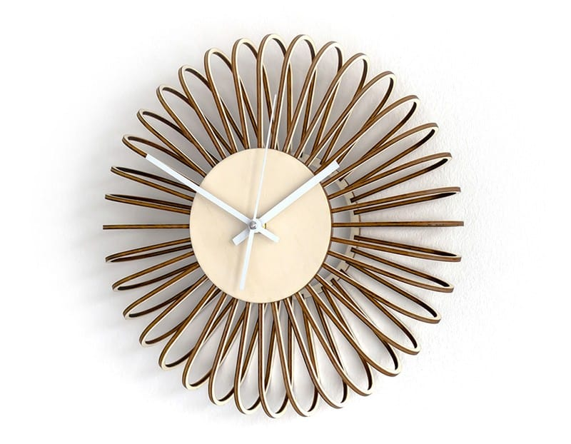 Puff Wall Clock by Gorjup Design