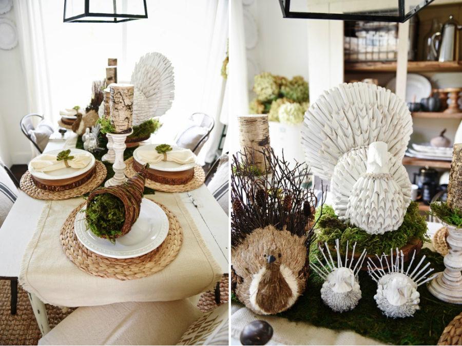 ... Rustic Modern Table Decor Ideas