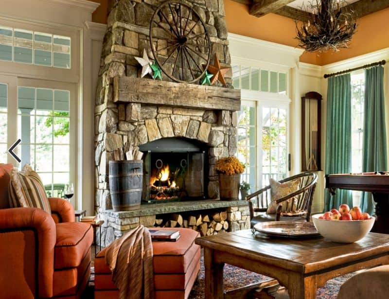 rustic-stone-fireplace-decor