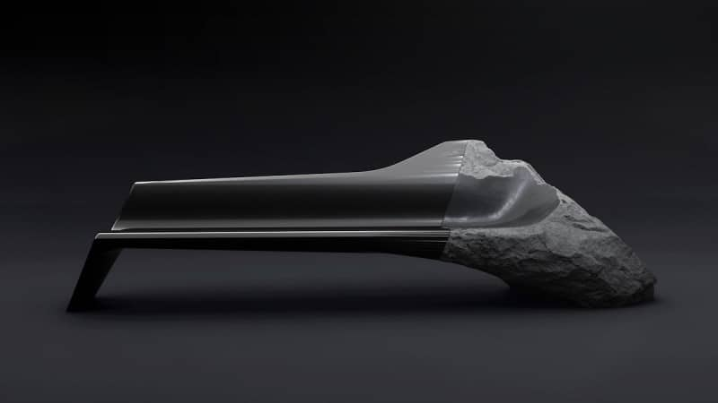 Sculptural ONYX Sofa by Pierre Gimbergues