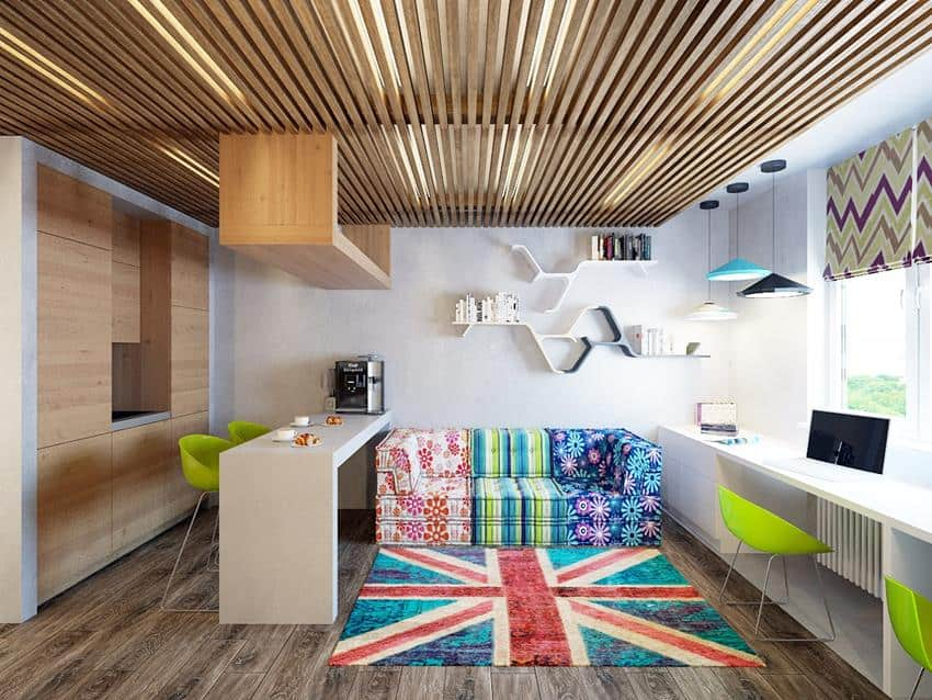 Shared micro loft apartment