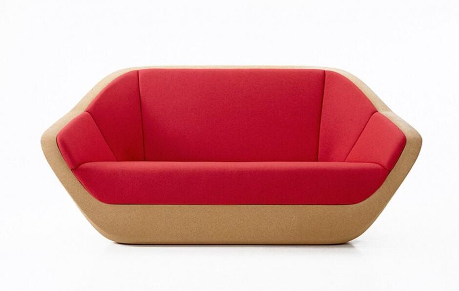 Sleek Corques sofa
