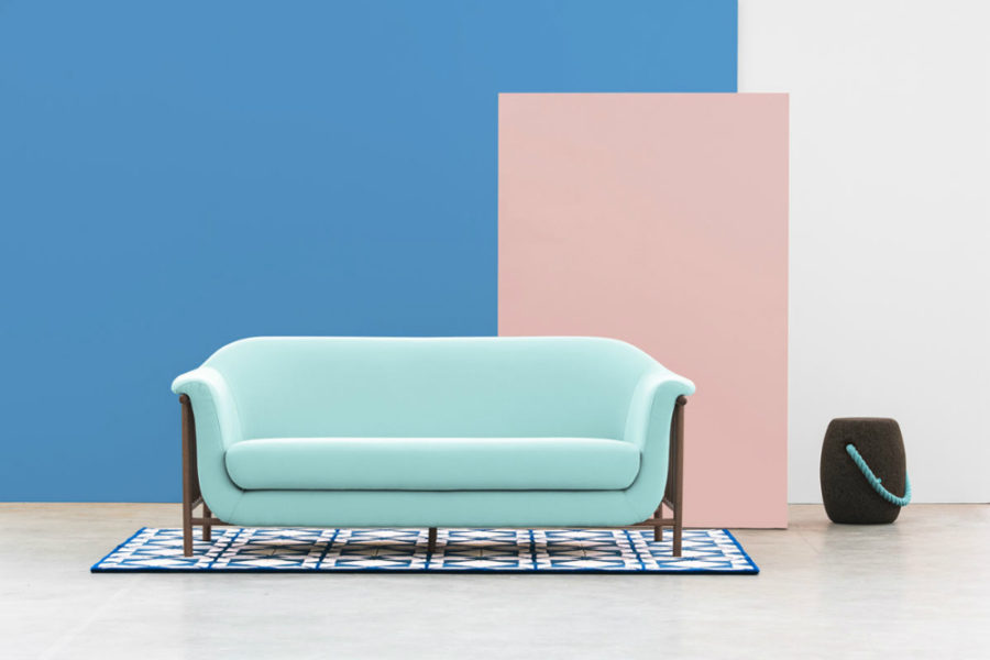 Streamlined Valentim sofa