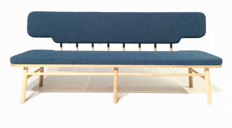 Swedish sofa-bench