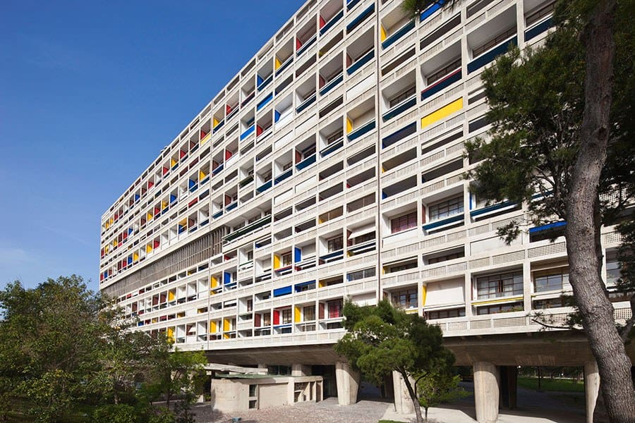 The Cité Radieuse, Marseille, France