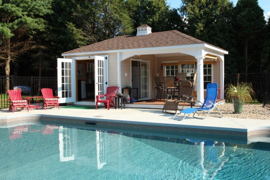 The barn yard store house pool