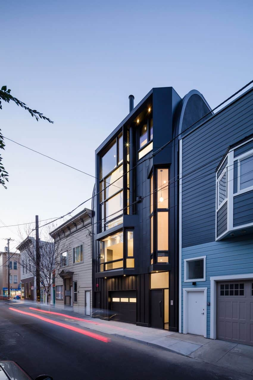 The house outperforms local architecture
