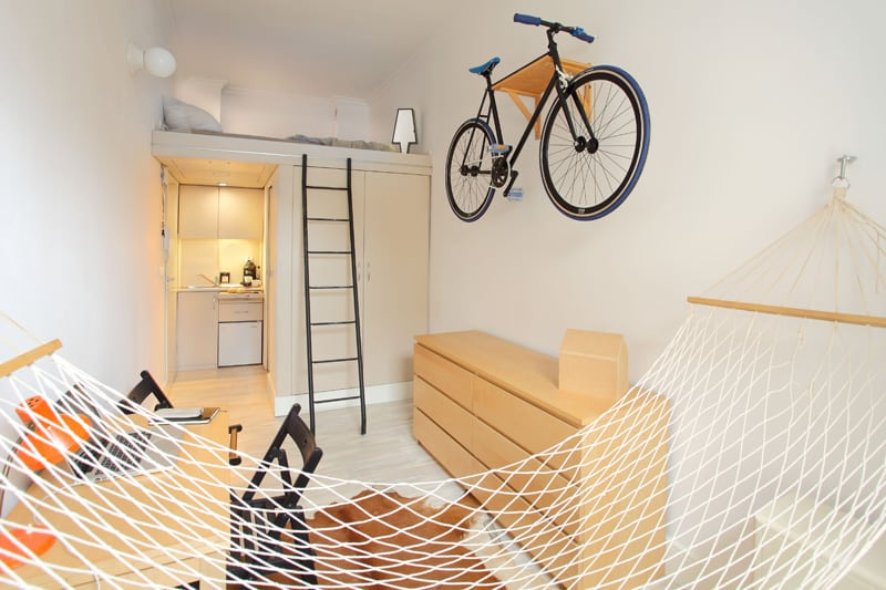 Tiny Apartment In Poland by Szymon Hanczar Student Accommodation Ideas That Maximise Space