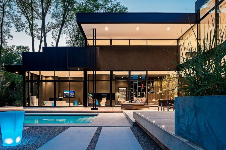 View In Gallery Toronto 44 Belvedere Residence By Guido Constantino 900x599 Stunning Modern Gl Houses That Beling The