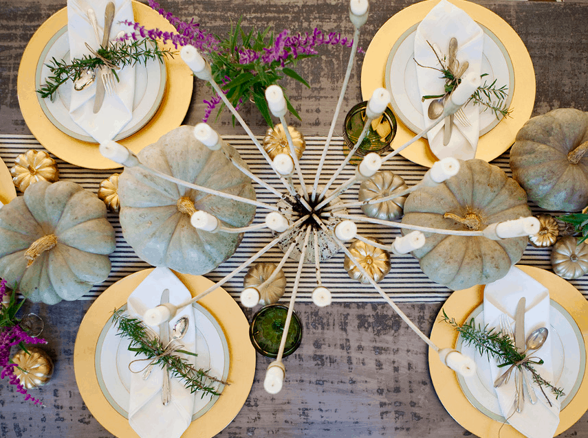 Urban Grace Thanksgiving tablescape