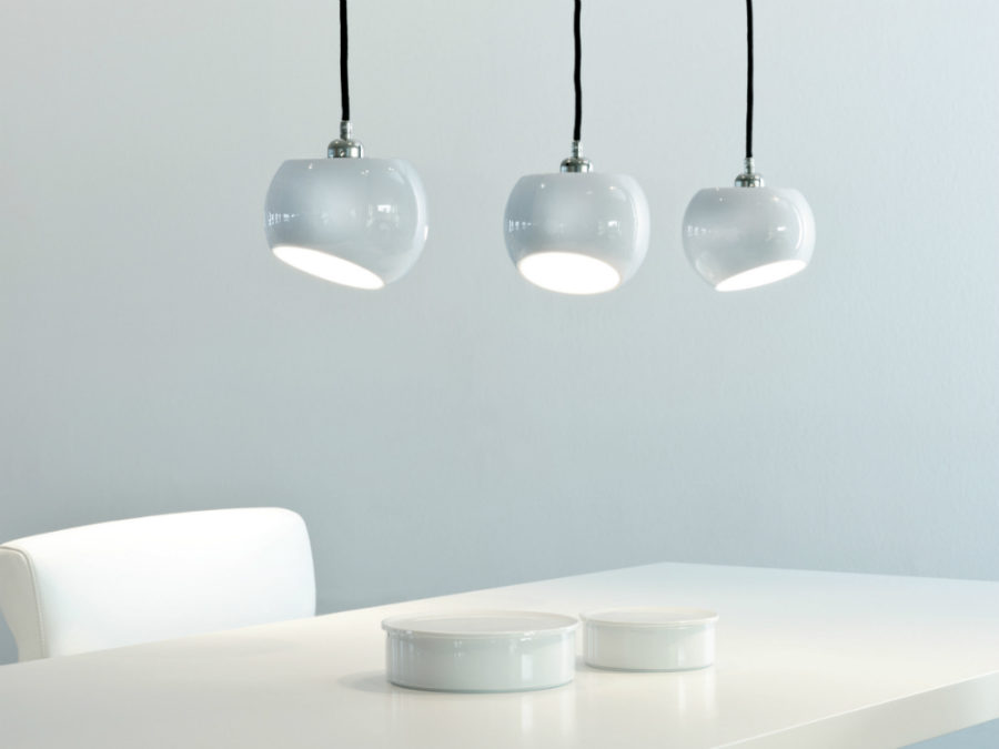 White Moons 3 pendant lamp