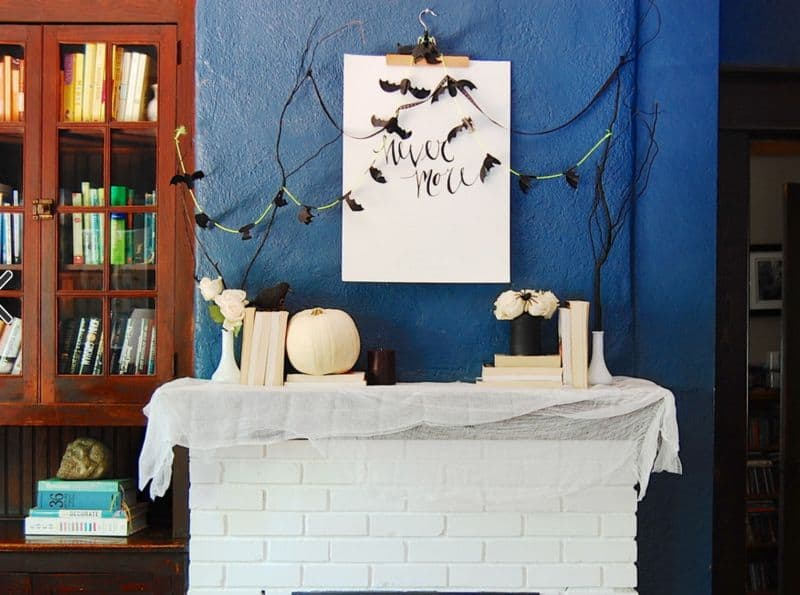 white-bricks-fireplace-decorated-for-halloween