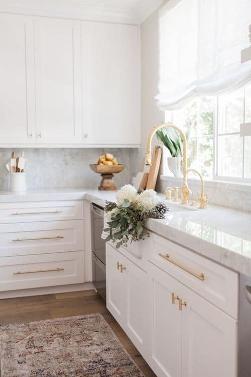 View In Gallery Marble Kitchen Countertop