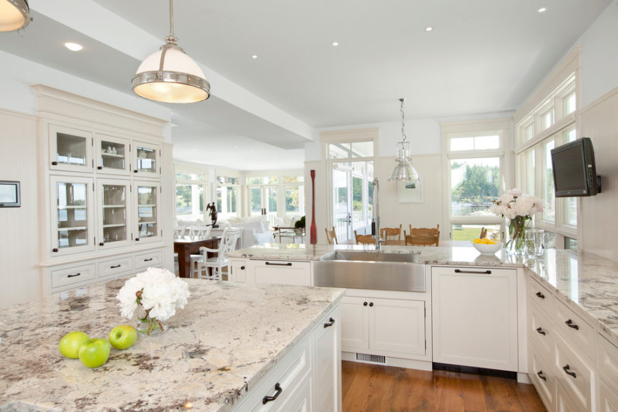 white-granite-countertops-that-look-like-marble-Kitchen-Traditional-with-BC-beige-countertop-built-in