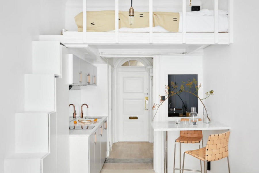 17-square-meter apartment im Stockholm