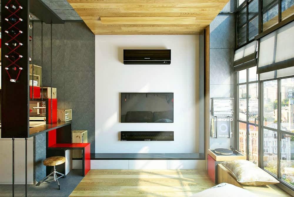 18-square-meter apartment by One Studio