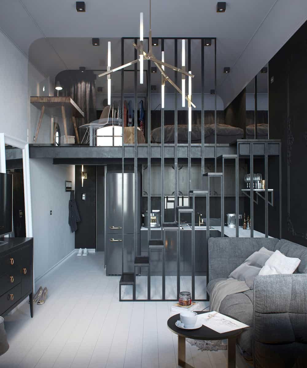 24-square-meter apartment