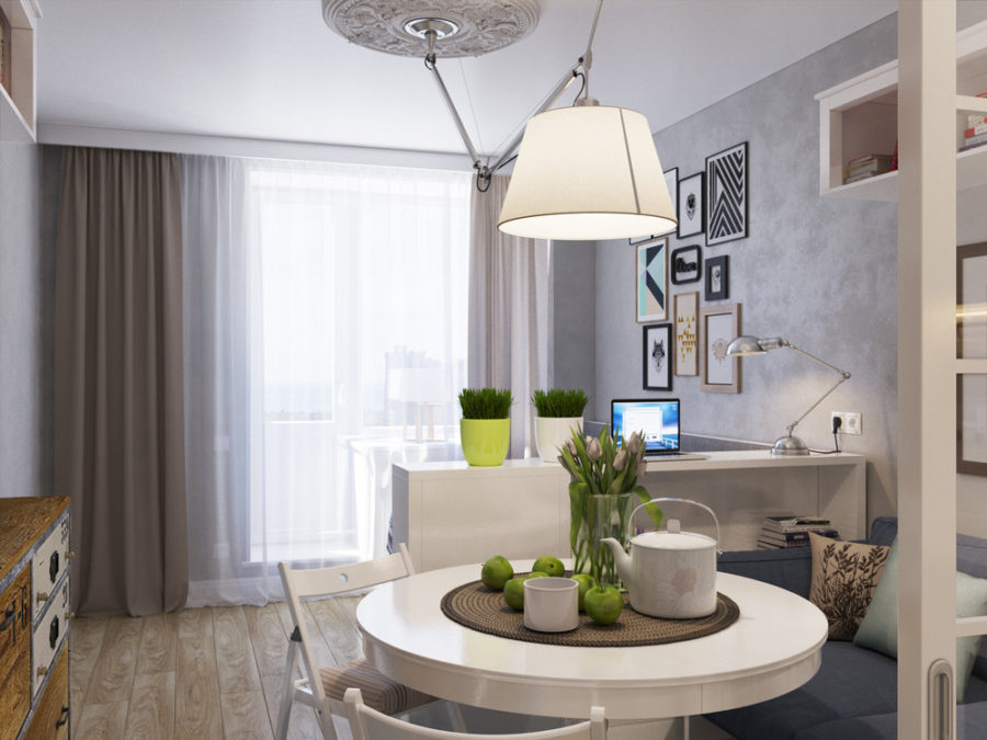 View In Gallery 25 Square Meter Apartment By Zucchini