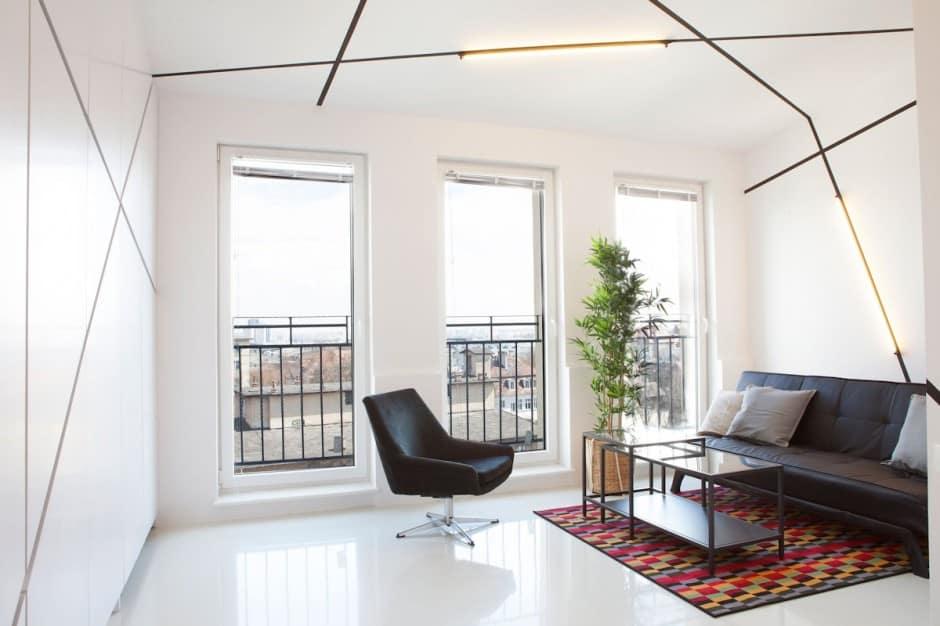 26-square-meter apartment by Mili Mlodzi Ludzie