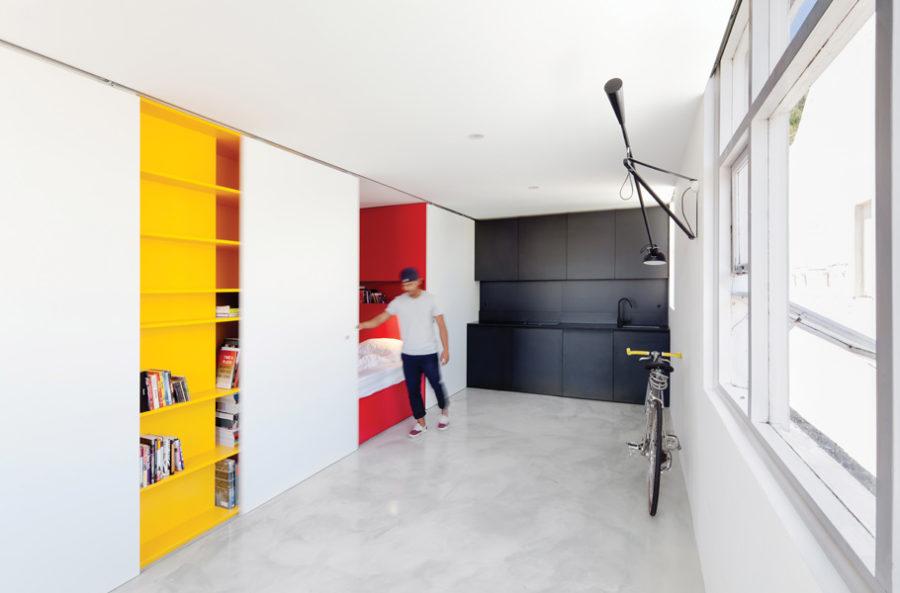 27-square-meter studio in Woolloomooloo