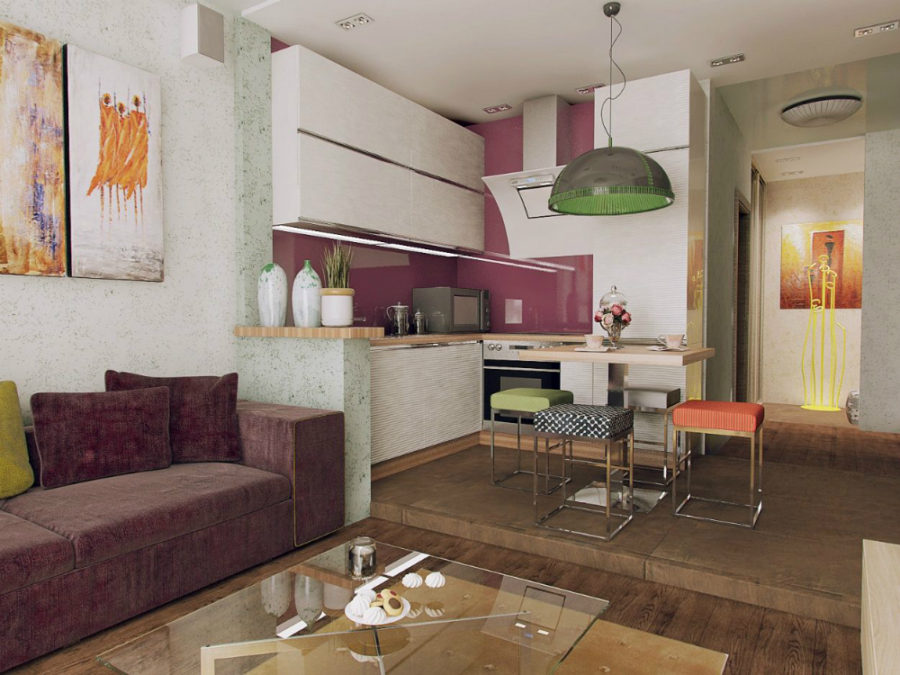 View In Gallery 28 Square Meter Apartment