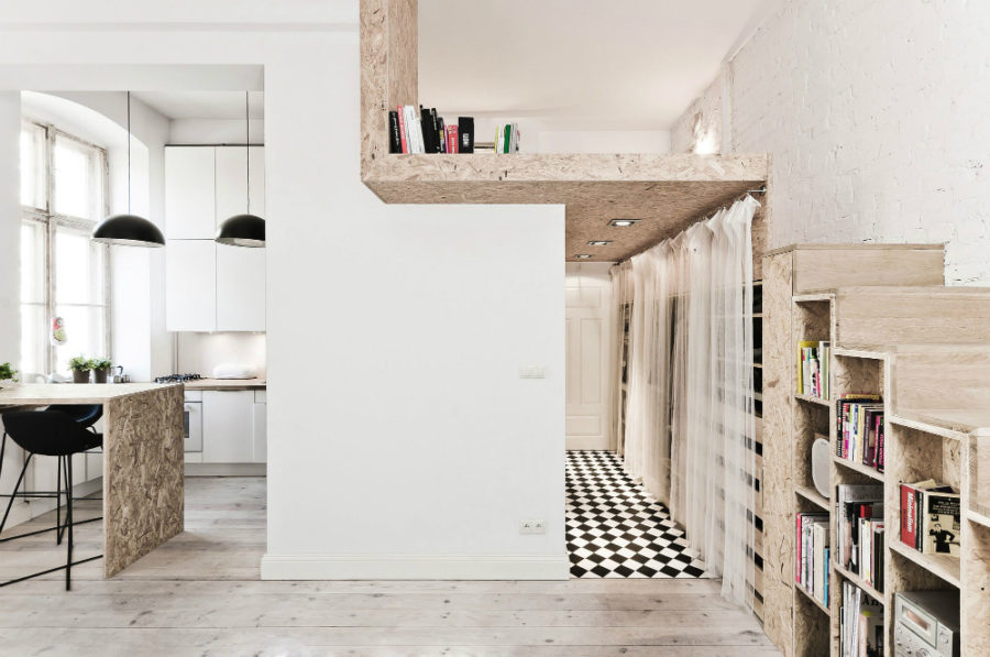 29-square-meter apartment in Poland