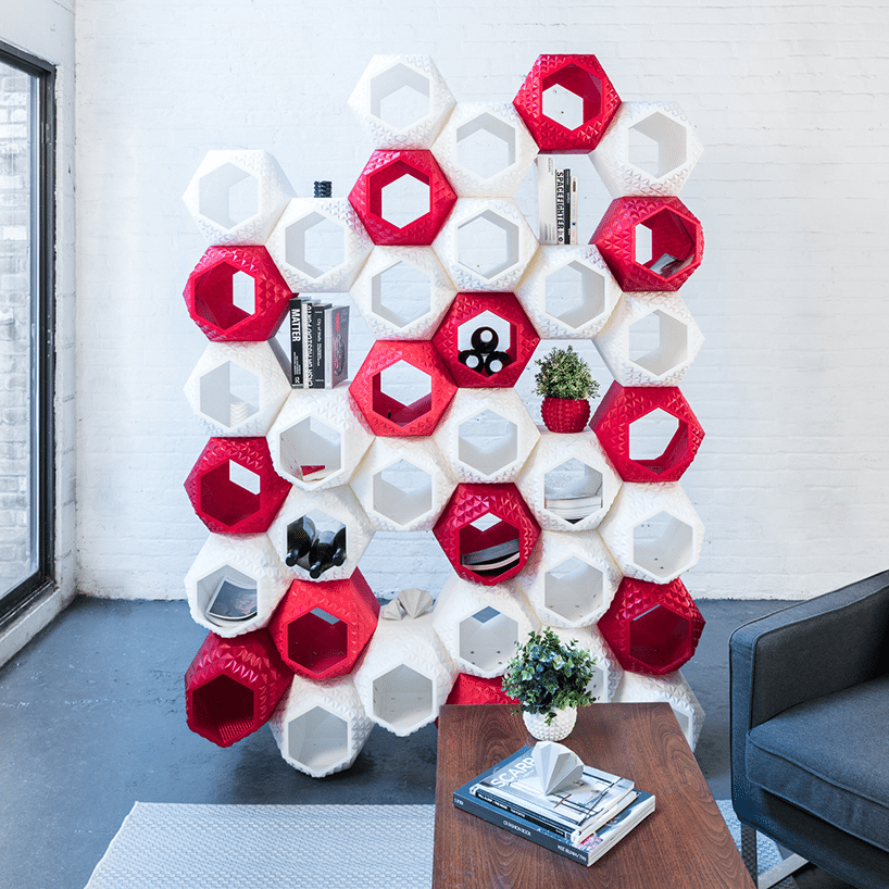 3D Printed storage wall 3D Printed Furniture Is the Next Step for Home Decor
