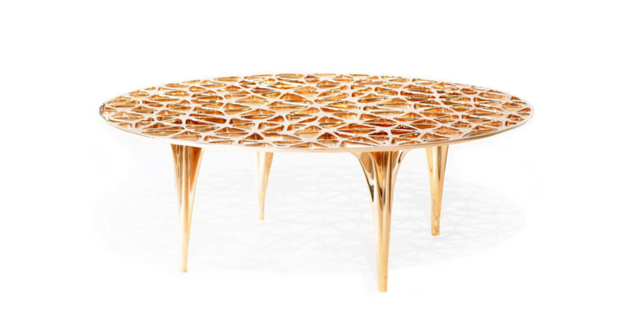 3D printed table by Janne Kyttanen