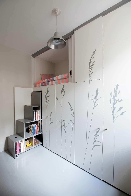 8-square-meter apartment in Paris