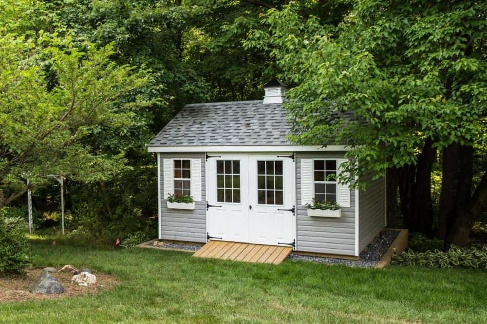 A-Frame Home Office Shed