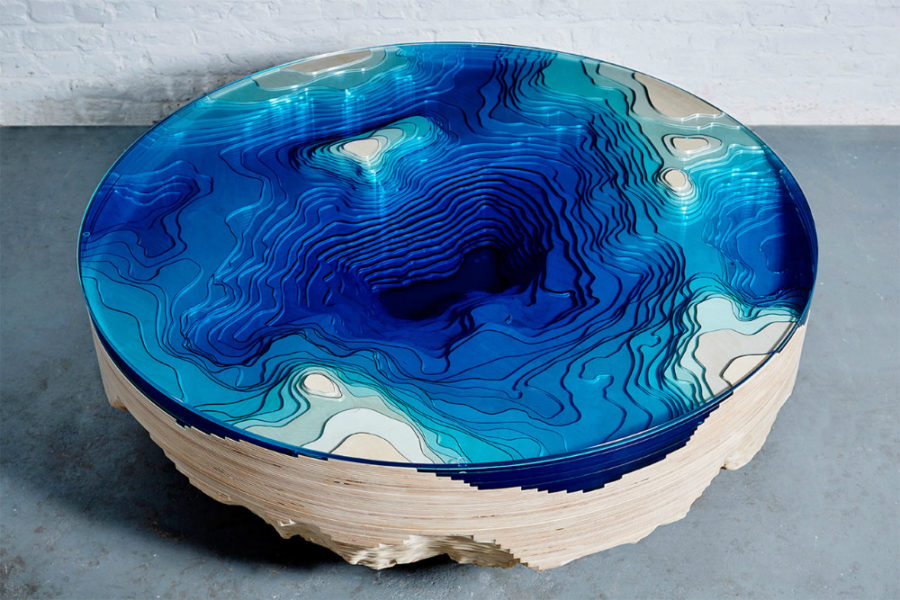 Abyss coffee table by Duffy London