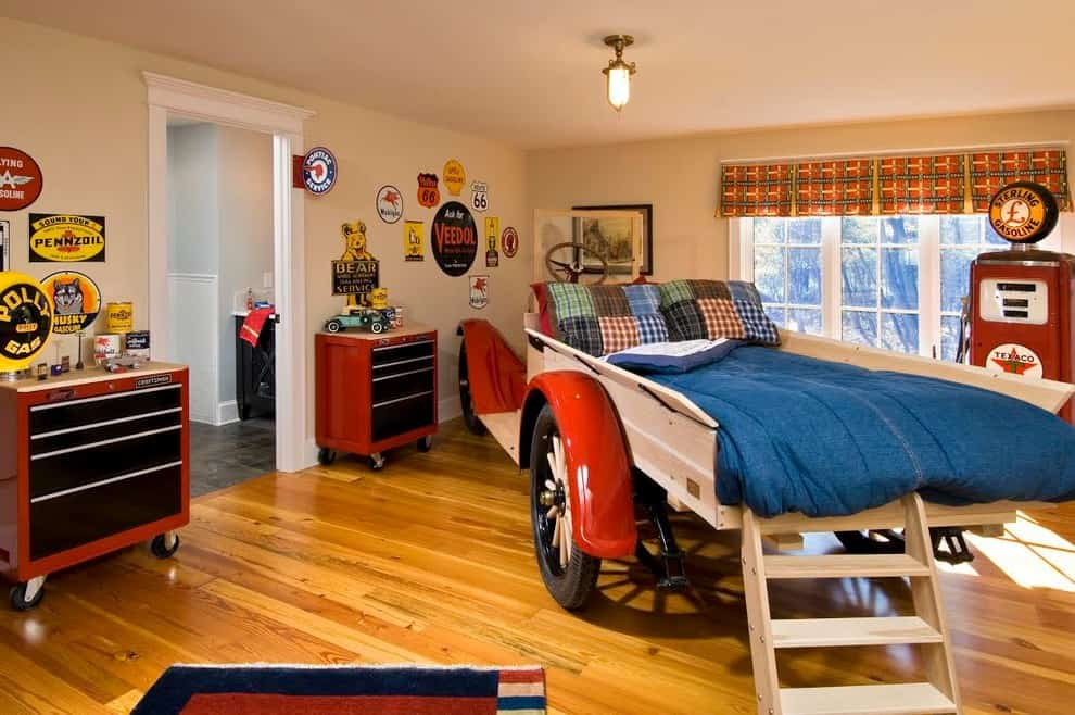 All American Boy Room theme