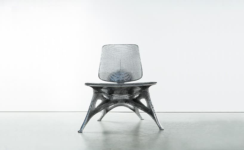 Aluminum Gradient Chair
