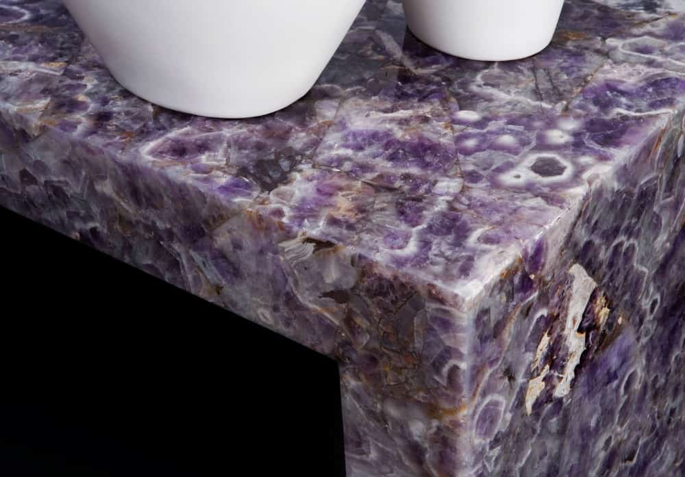 Amethyst kitchen countertop
