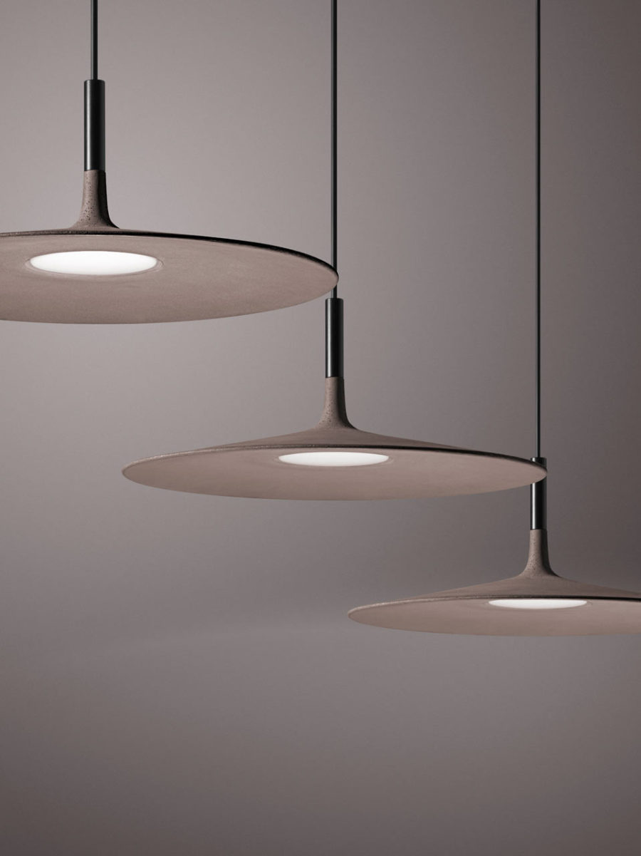 Aplomb Large by Studio Lucidi Pevere for Foscarini 900x1201 Contemporary Concrete Lamp From Foscarini is Stylish and Elegant