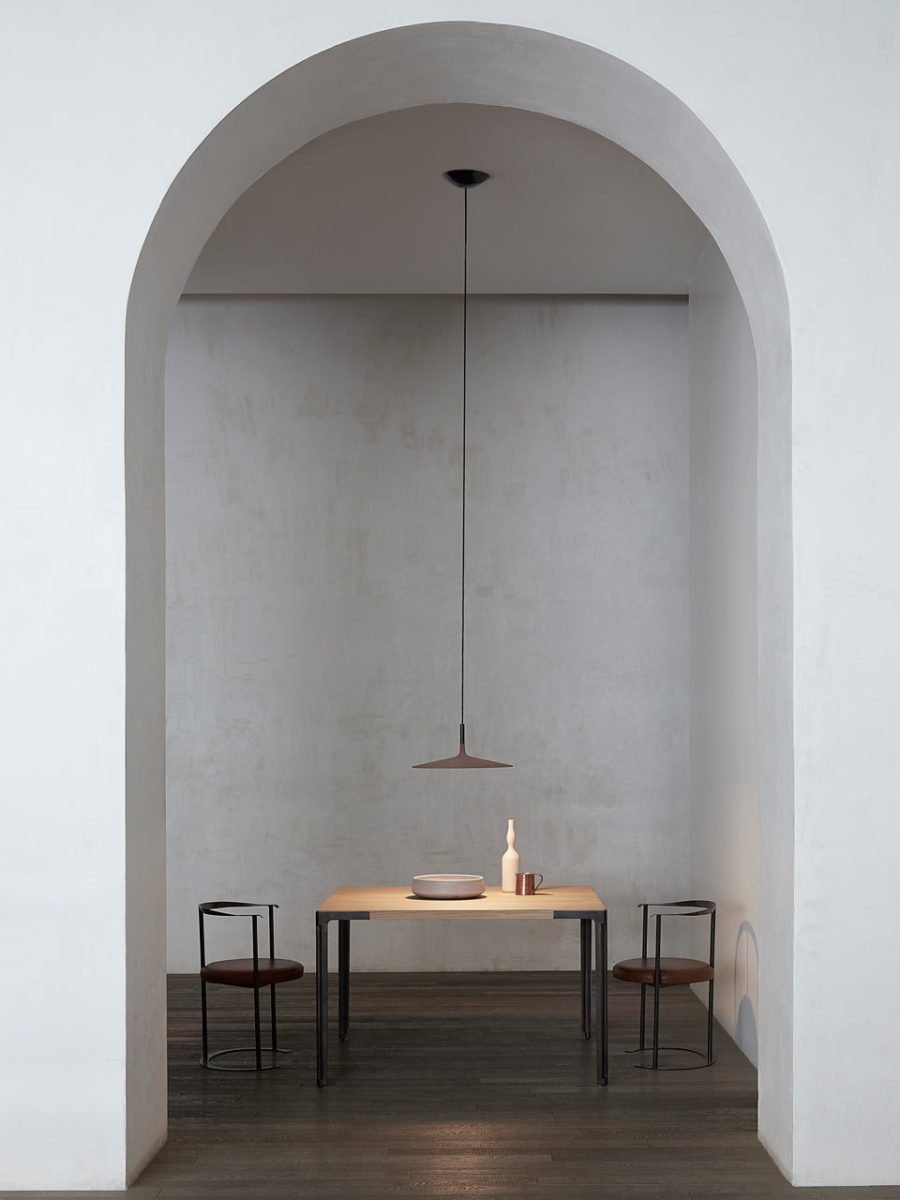 Aplomb Large in interior 900x1200 Contemporary Concrete Lamp From Foscarini is Stylish and Elegant